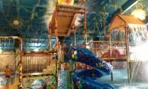 Детская горка в аквапарке