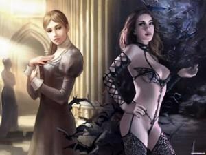 Жена до и после замечания