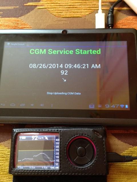 Онлайн мониторинг крови на основе планшет